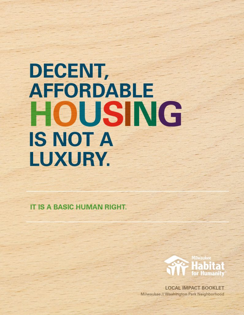 Habitat for Humanity Campaign Brochure