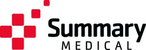 Brand development and logo design for Summary Medical. Her & Himsel is named one of the best branding agencies in Milwaukee.