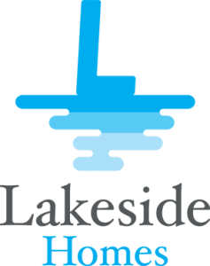 Brand development and logo design for Lakeside Homes. Her & Himsel is named one of the best branding agencies in Milwaukee.